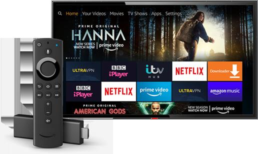 Download UltraVPN now, the best VPN for Amazon Fire TV